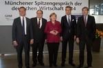 Spitzengespräch Wirtschaft, Merkel, Wollseifer, Schweitzer, Grillo, Kramer